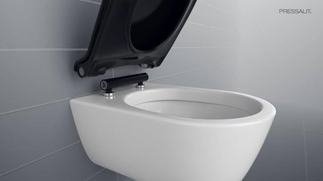 abattant wc facile à nettoyer