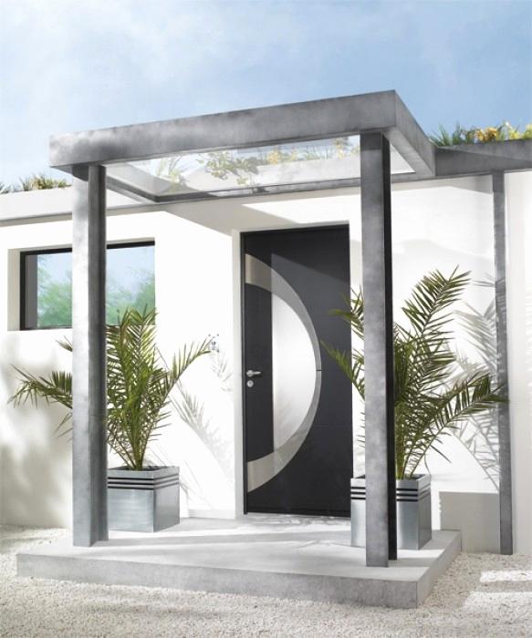 abri porte d'entrée design