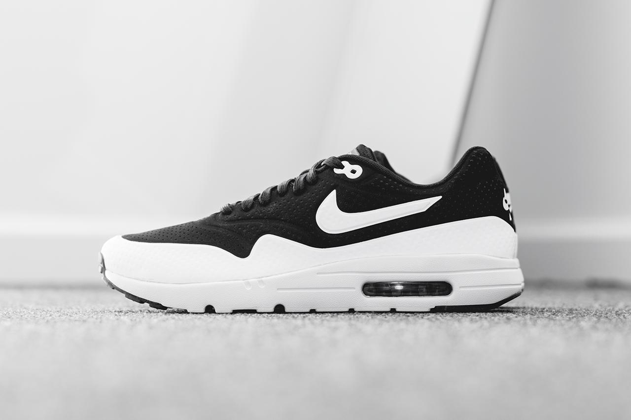 air max 1 noir et blanche