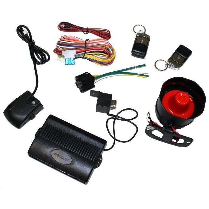 alarme vehicule