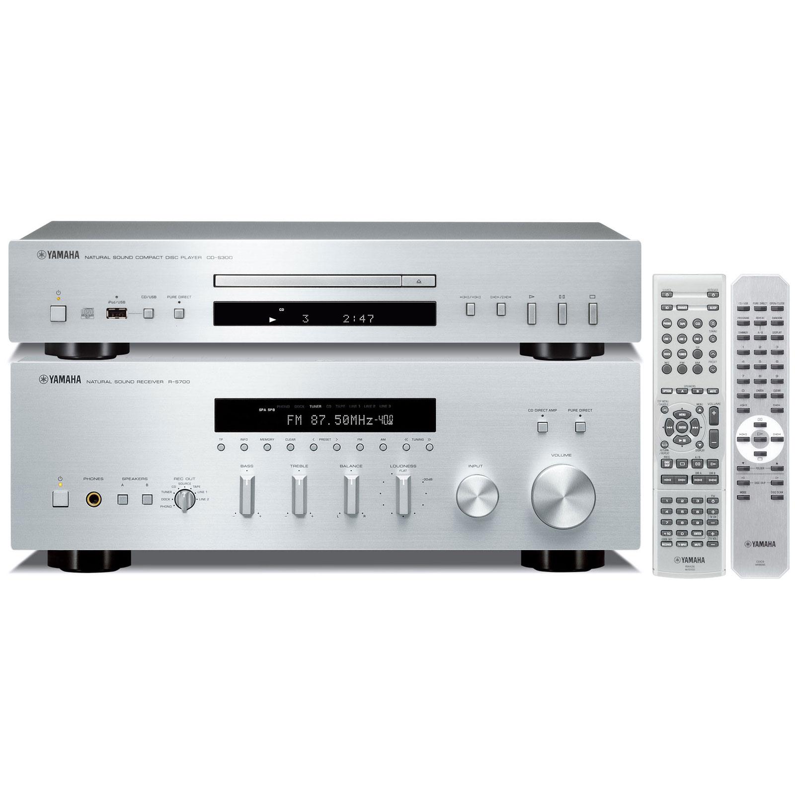 ampli tuner lecteur cd integre