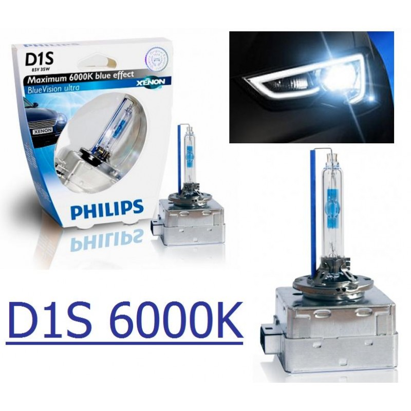 ampoule xenon d1s philips