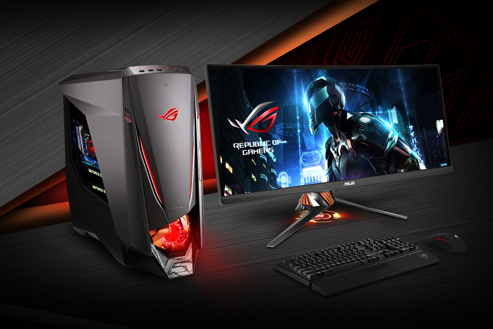 asus rog pc gamer