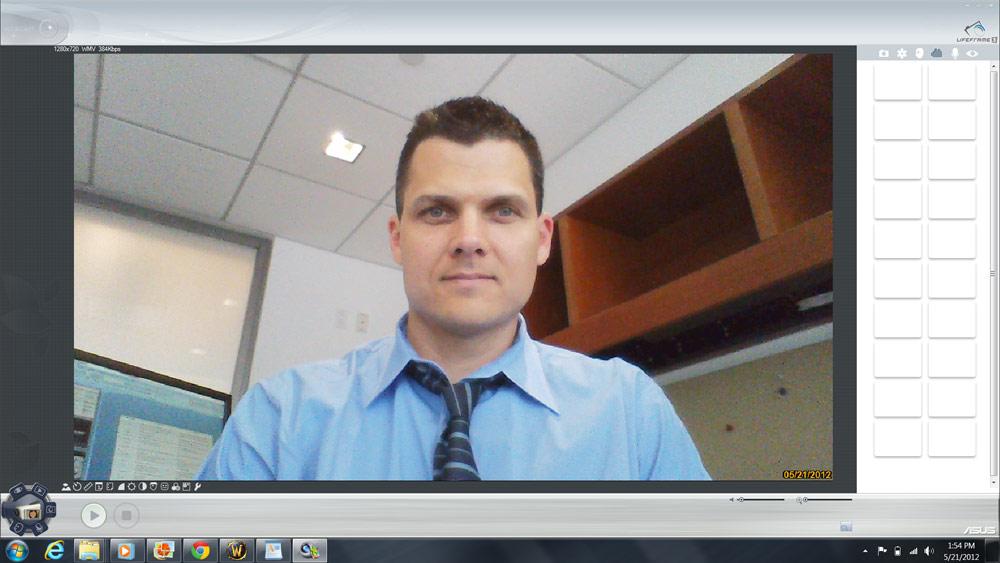 asus zenbook webcam