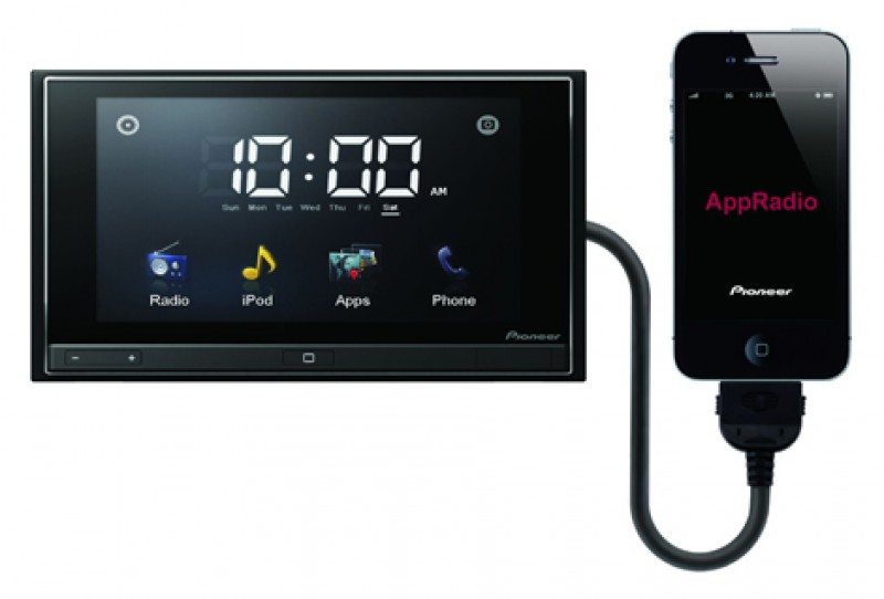 autoradio pioneer iphone