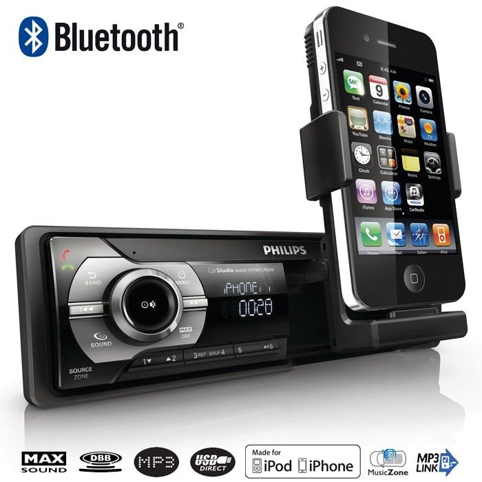autoradio pour iphone