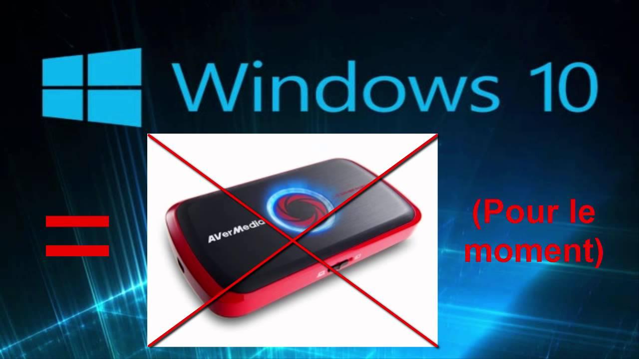 avermedia windows 10