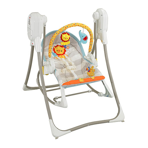 balancelle 3 en 1 jungle de fisher price