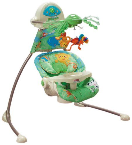 balancelle bébé fisher price jungle