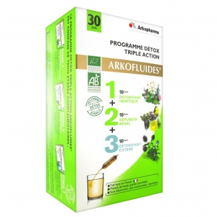 arkofluide detox triple action