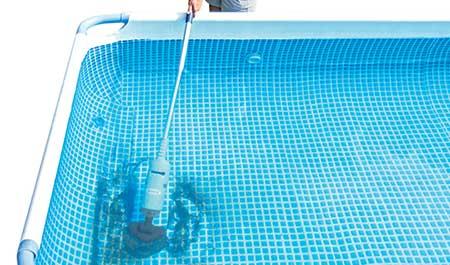 aspirateur de piscine hors sol intex