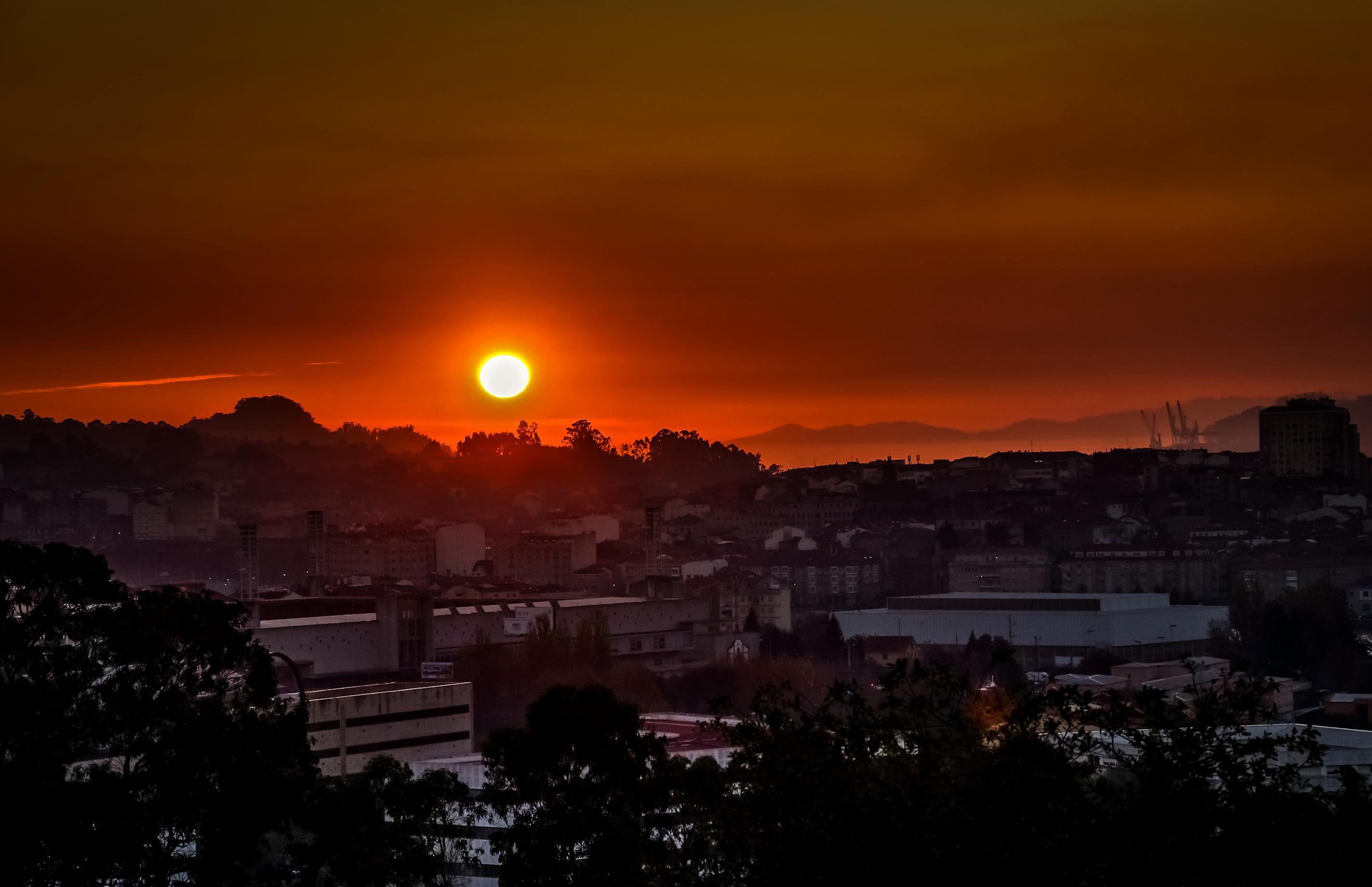 aube lever du soleil