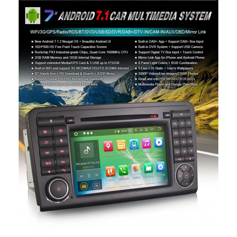 autoradio bluetooth gps