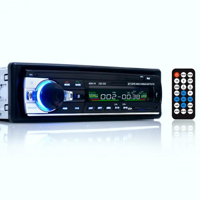 autoradio mp3 usb bluetooth