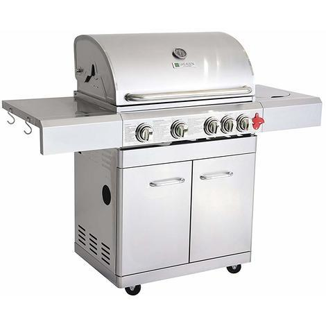 barbecue a gaz inox