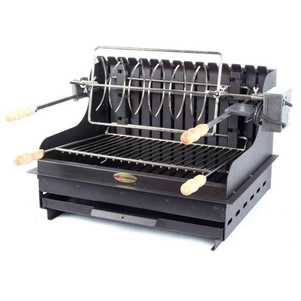 barbecue à poser charbon