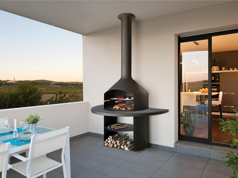 barbecue cheminée intérieur