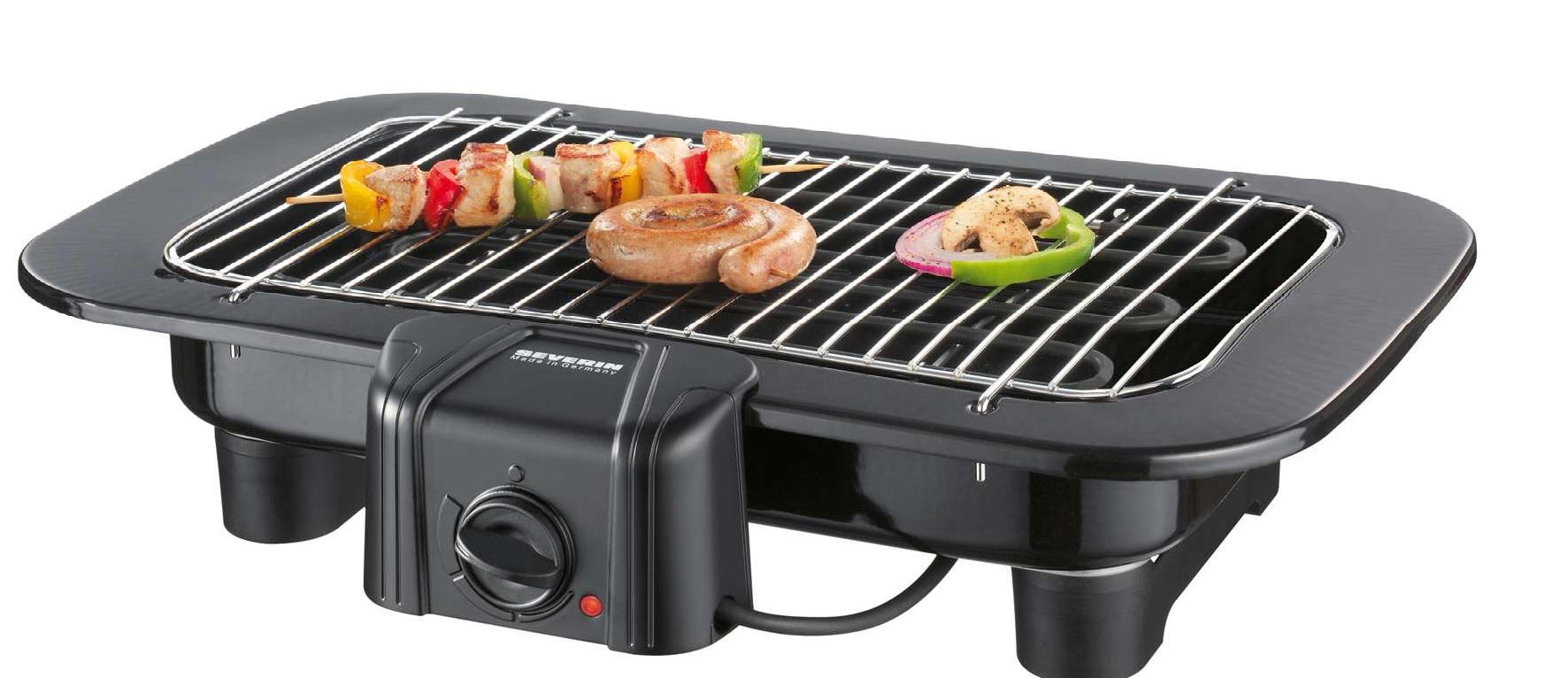 barbecue electrique grande surface cuisson