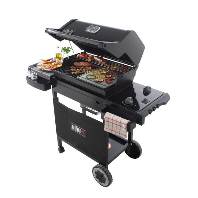 barbecue et plancha gaz weber
