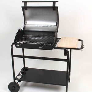 barbecue fonte avec couvercle