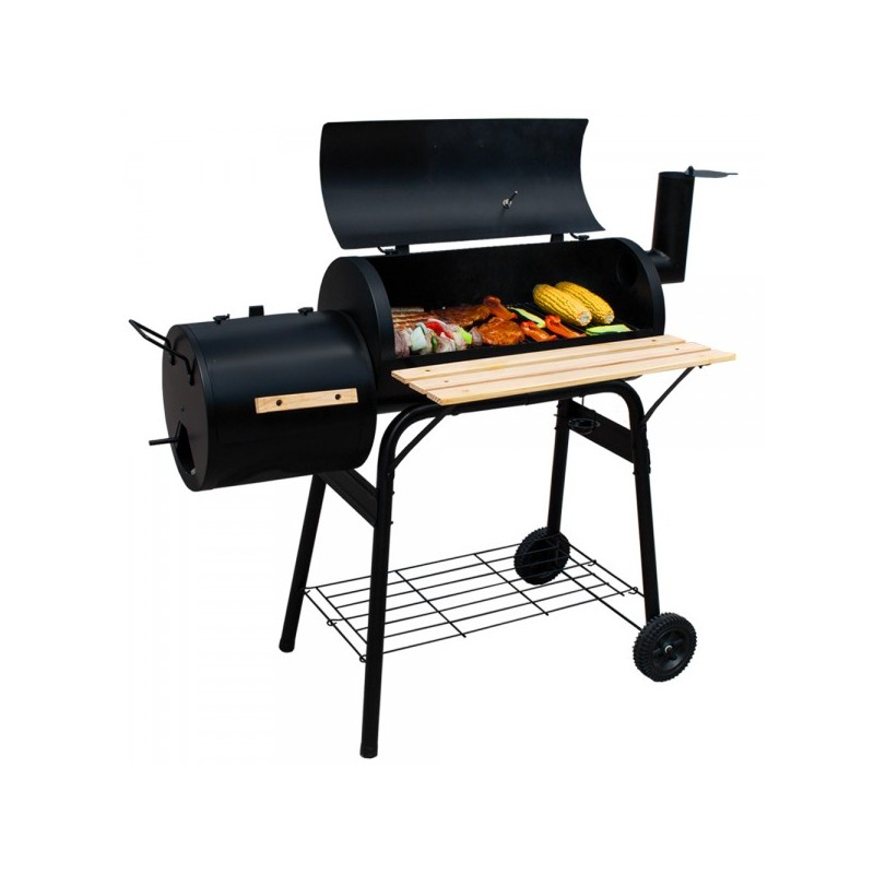 barbecue fumoir bois