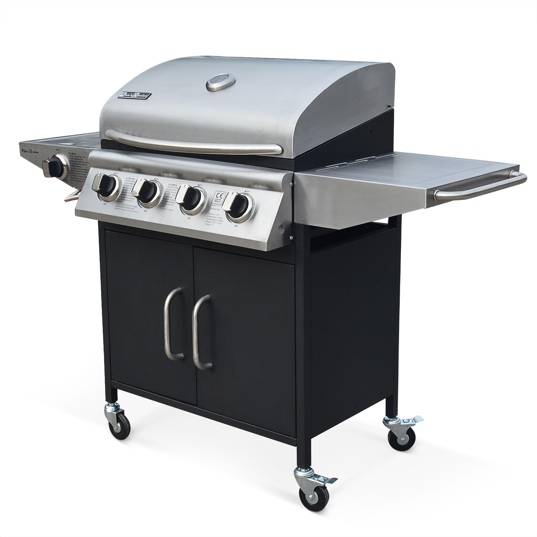 barbecue gaz 4 bruleurs