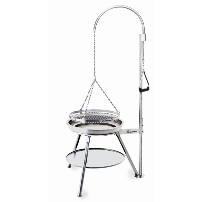 barbecue suspendu inox