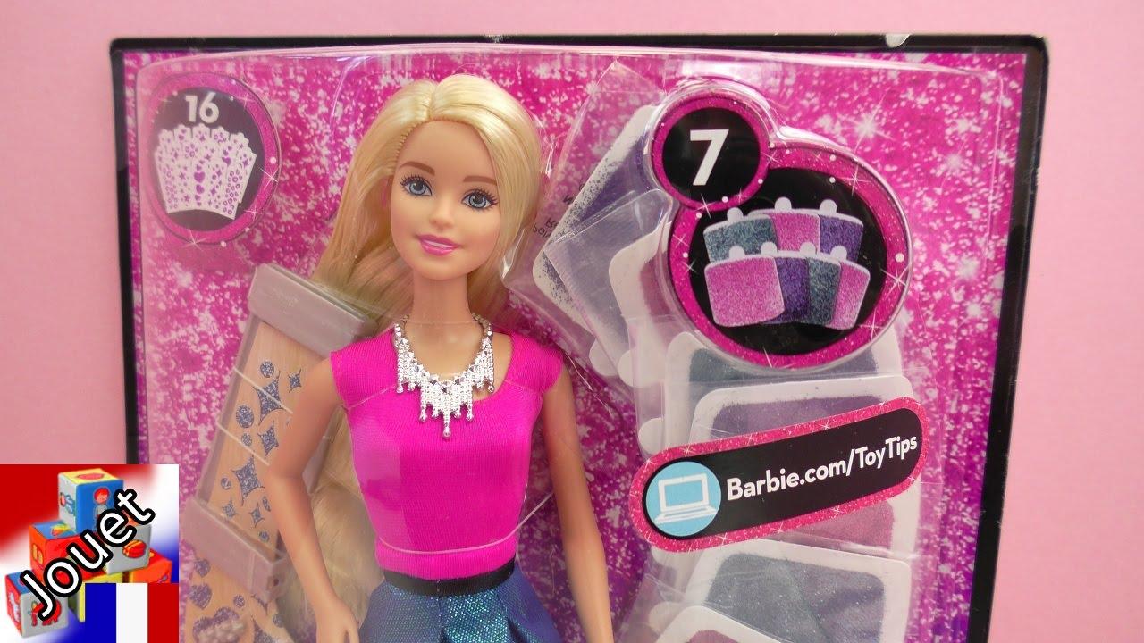 barbie coiffure et maquillage