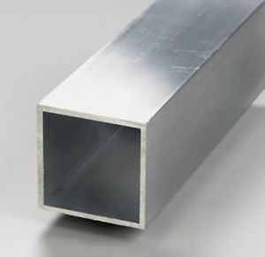 barre carré aluminium