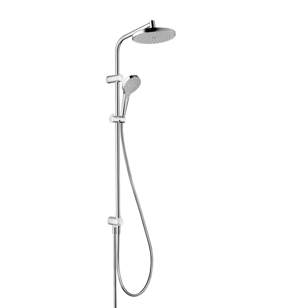barre de douche sans robinetterie