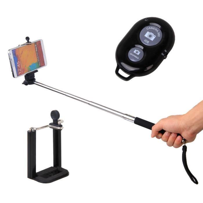barre telescopique pour selfie