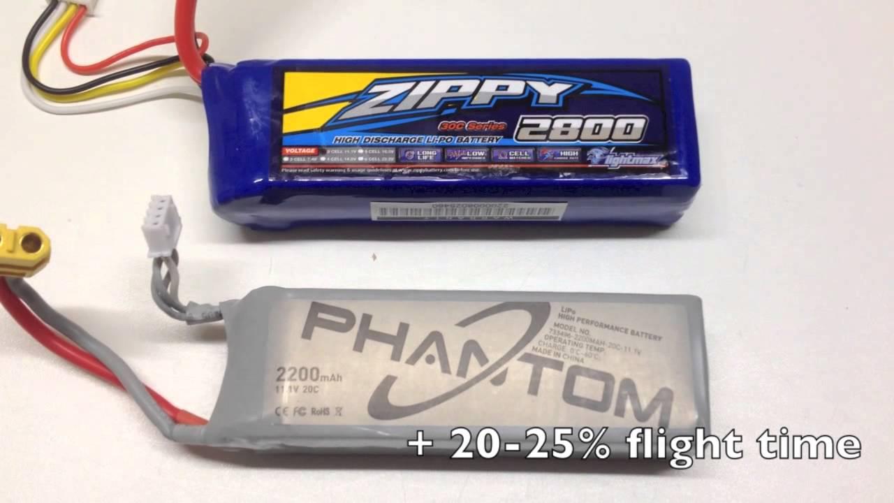 batterie dji phantom 1