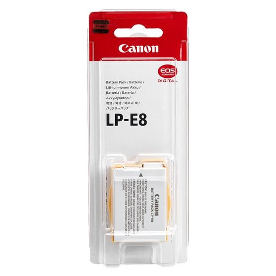 batterie lp-e8 canon