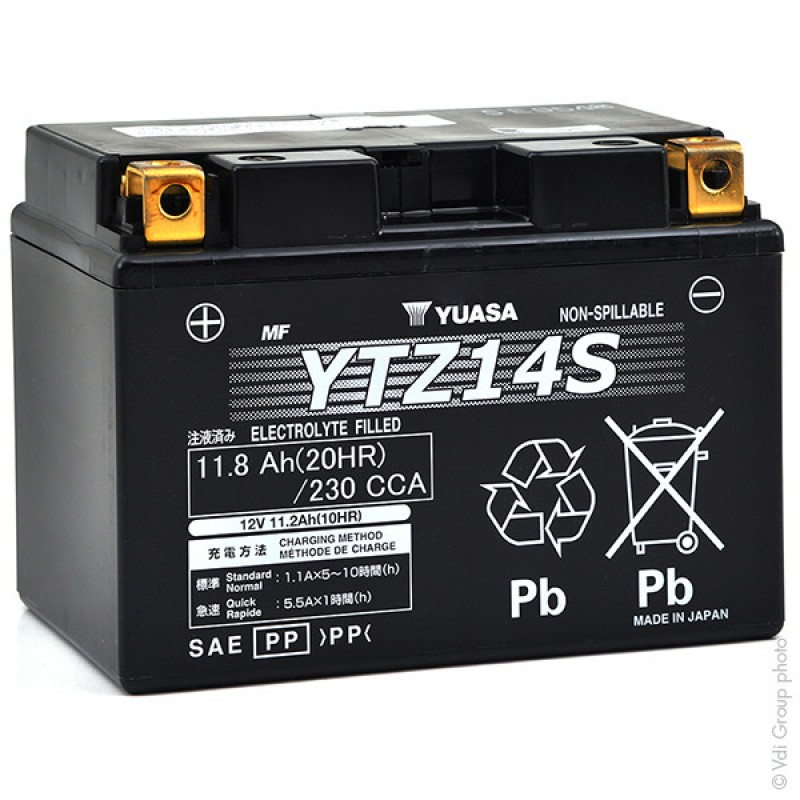 batterie moto yuasa ytz14s
