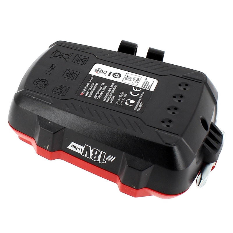batterie pour perceuse visseuse parkside 18v