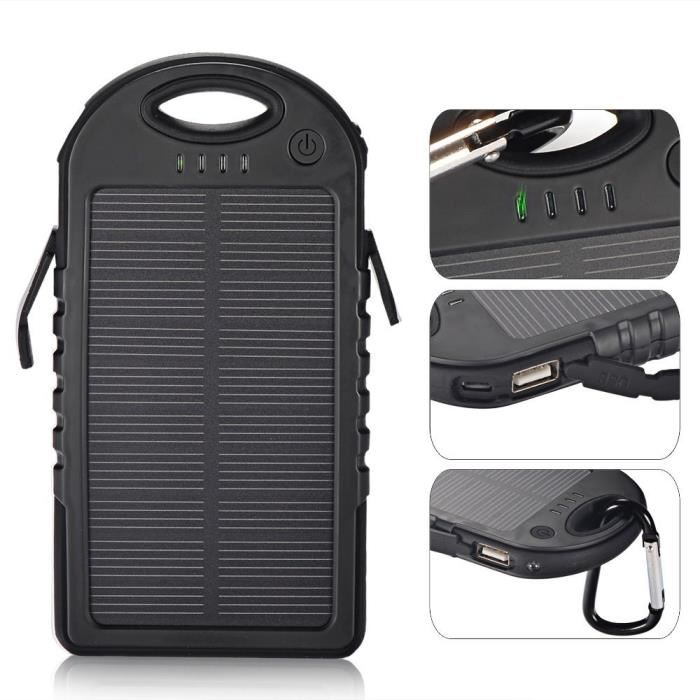 batterie solaire iphone