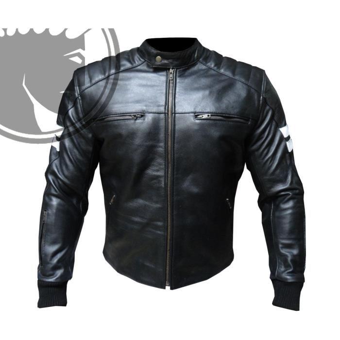 blouson moto cuir
