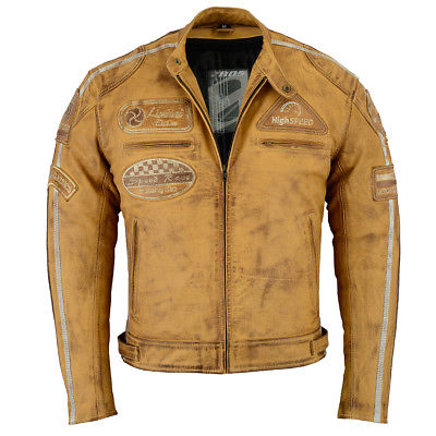 blouson moto homme vintage
