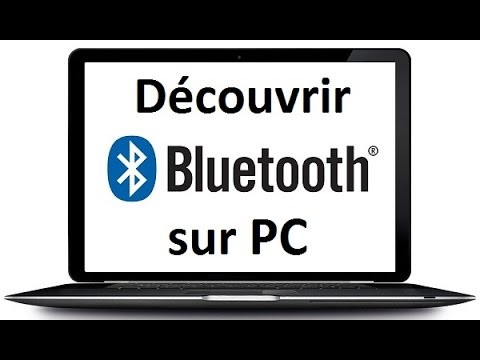 bluetooth sur pc portable