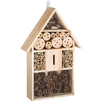 boite à insectes en bois