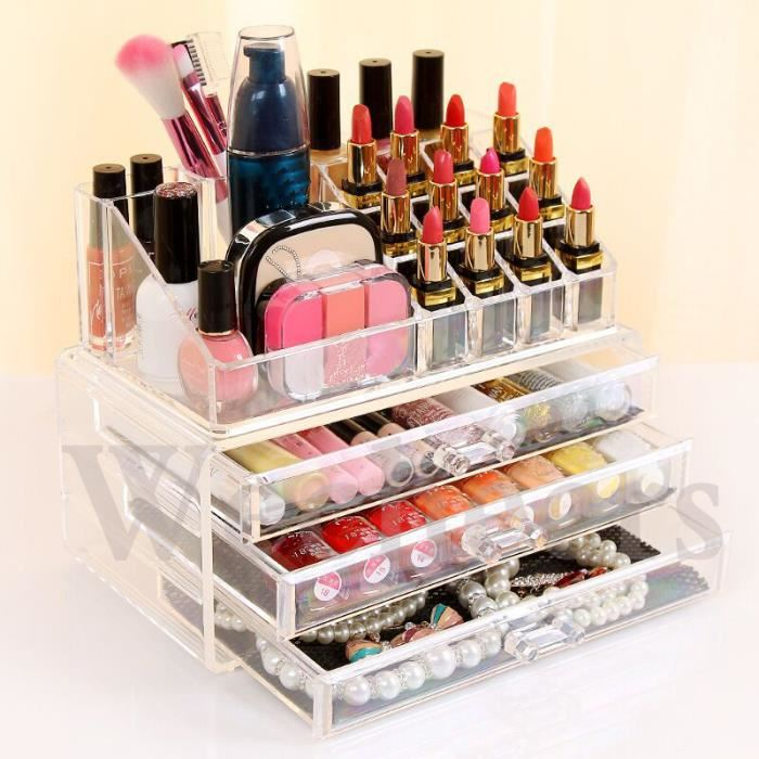 boite rangement cosmetique