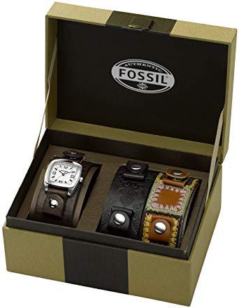 boite rangement montre fossil