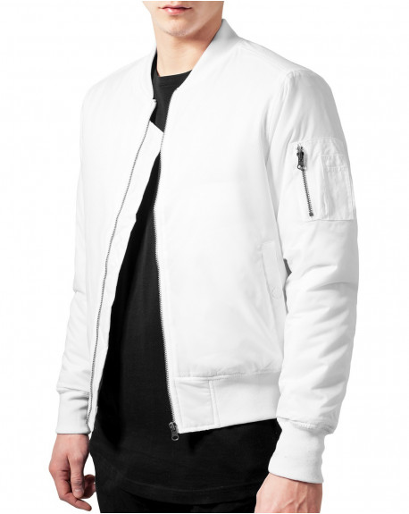 bombers homme blanc