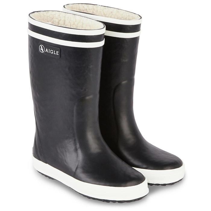bottes de pluie fourrées