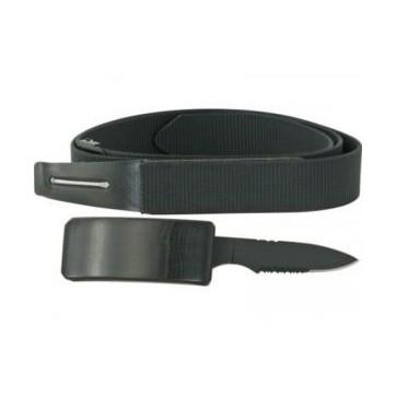 boucle de ceinture avec couteau intégré