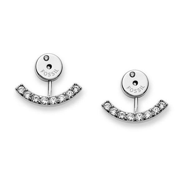boucle oreille fossil