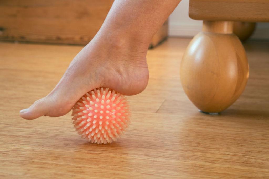 boule massage pied