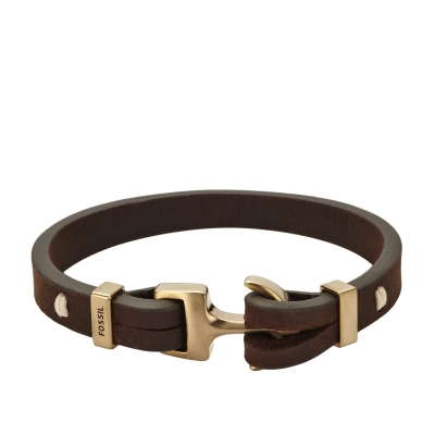 bracelet ancre homme fossil