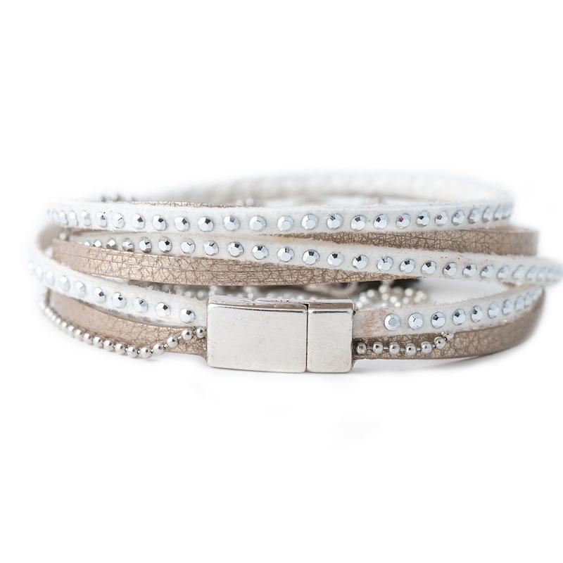 bracelet blanc femme