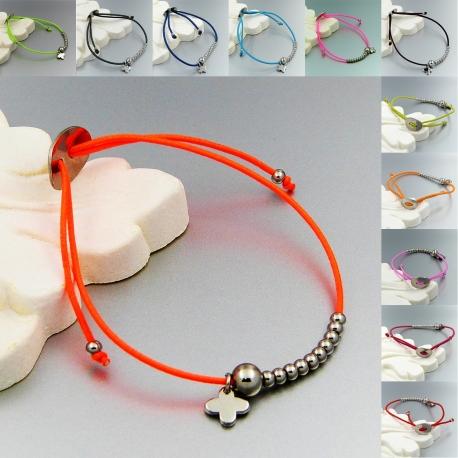 bracelet cordon elastique